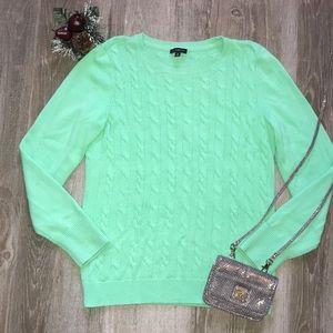 Talbots LambsWool Nylon Sweater